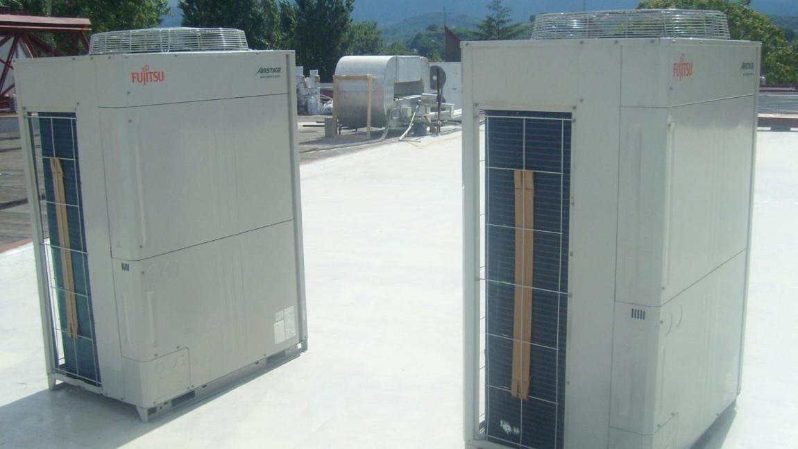 Impianto VRF canalizzato kw 90