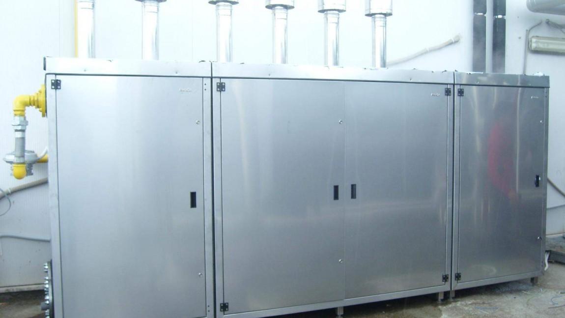 Impianto a condensazione kw 770