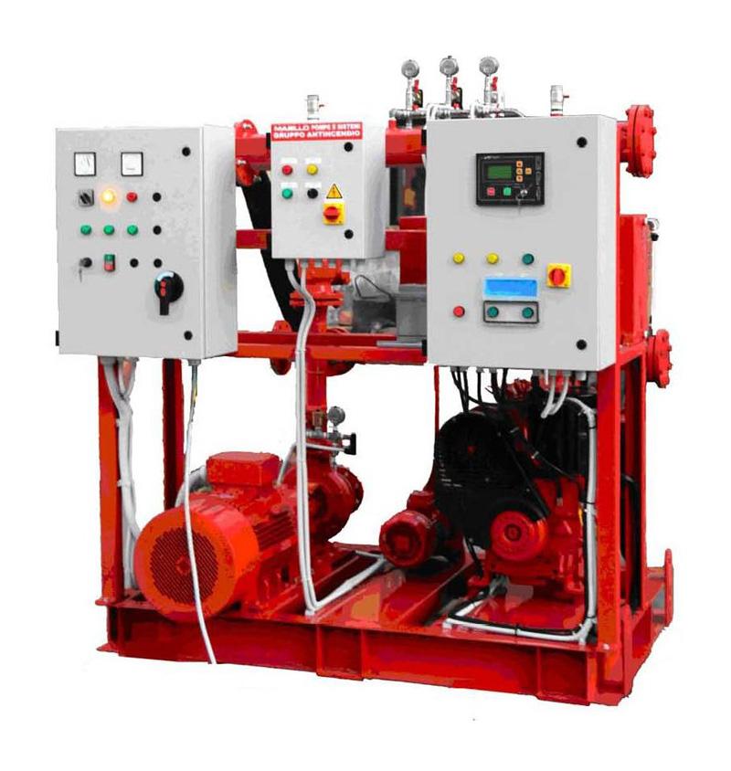 Sistemi antincendio e sollevamento – gruppo antincendio
