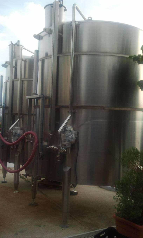 Impianto di refrigerazione vino