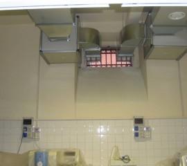 Impianto di ventilazione laboratorio analisi