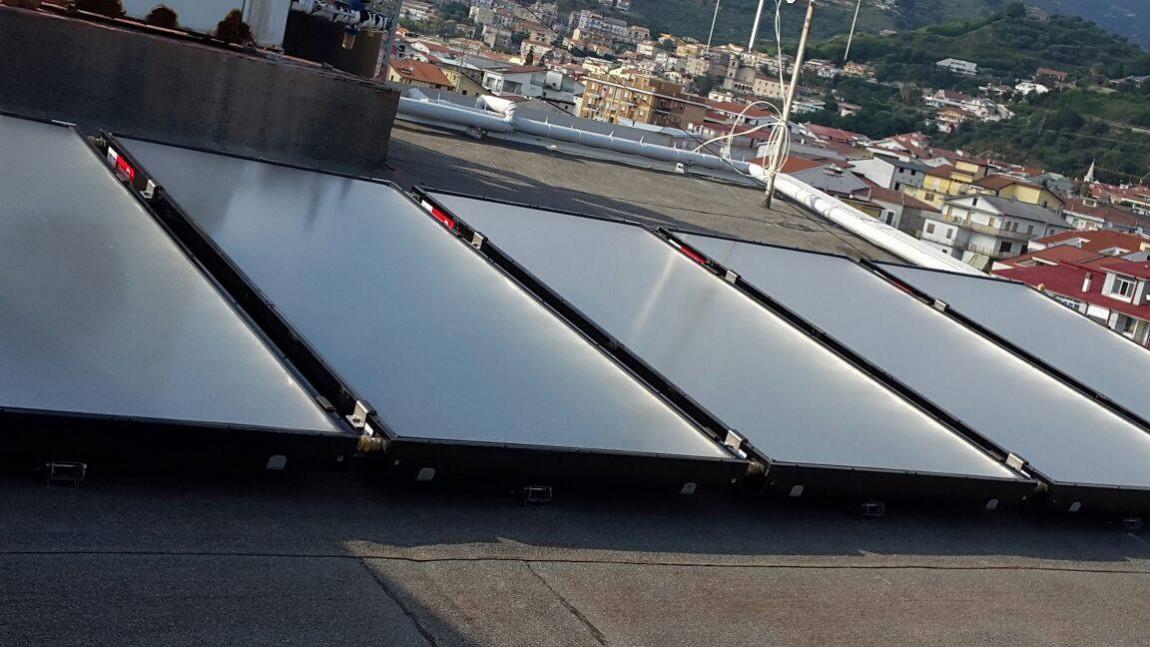 Pannelli solari temici